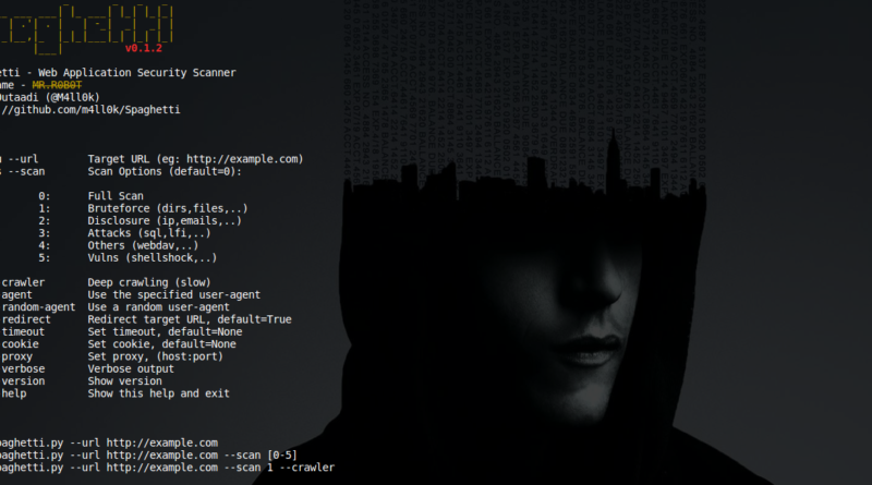 Spaghetti – An Open Source Web Application Security Scanner