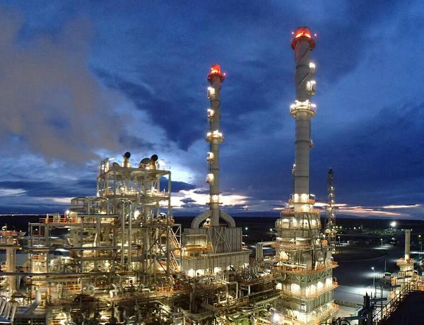 The process of acquiring natural gas