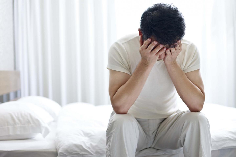 Men's problems in bed
